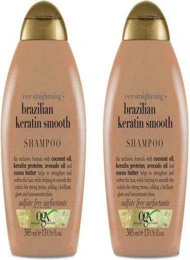 Organix Ogx Brazilian Keratin Therapy Düzleştirici Etkili Şampuan 385 ml Renksiz